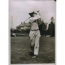1929 Press Photo TP Perkins in English Amateur golf championship - nes05944