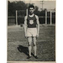 1930 Press Photo Howard Paul broad jumper for USC - nes05945