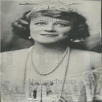 1931 Press Photo Opera Star Hempel Portrait Promo