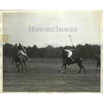 1930 Press Photo America's Outstanding Poloists Candidates for American Cup Team