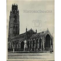 1931 Press Photo Boston Stump, St Botolph's Church, Lincolnshire, England