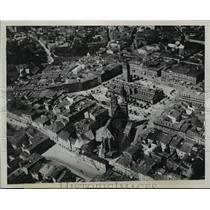 1939 Press Photo Poland Aerial View - ftx01344