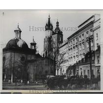 1939 Press Photo Poland Architecture  - ftx01345