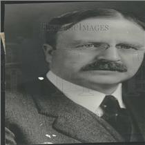 1923 Press Photo Ex-mayor Hylan New York heart attack