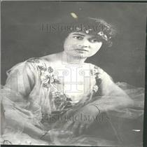 1917 Press Photo Annunziata Camila Maria Lucci Gould