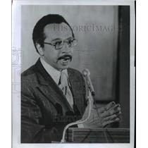 1977 Press Photo Rep Parrem Mitchell D-Maryland - ora62591
