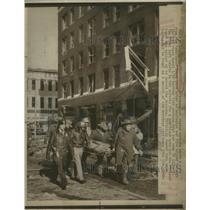 1976 Press Photo Fremont Pathfinder Hotel Blast