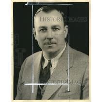 1936 Press Photo Charles L. McPherson Matchmaker Western Athletic Club Wrestling
