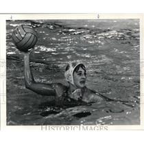 1978 Press Photo Lisa Rankin David Douglas State Water Polo Championship