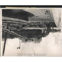 1938 Press Photo Djibuti Governors Palace Port