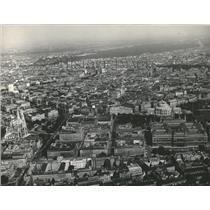 1961 Press Photo An Aerial View Of Vienna
