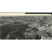 Press Photo White river Bad Land Lease Ground Fierce - RRY32405