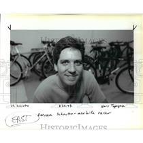 1993 Press Photo Darren Schouten Mtn Bike Racer - ora78968