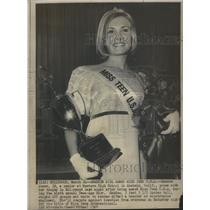 1967 Press Photo The Sixth Annual Miss Teen U.S.A.