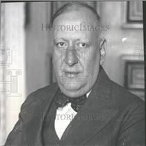 1930 Press Photo Dr. Manuel Malbren Ambassador U.S.