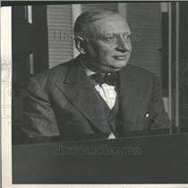 1928 Press Photo Dr. Emanuel Malbran Argentina