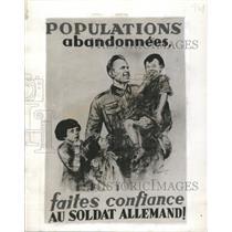 1940 Press Photo French Politicians Germany