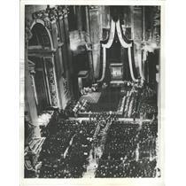 1940 Press Photo St. Peter's Church Vatican City Rome