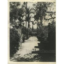 Press Photo Vizcaya Miami Italy Biscayne Bay Garden Pic - RRY38937