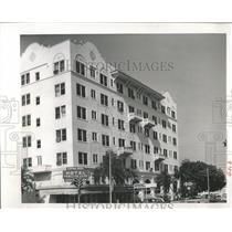 1965 Press Photo Ponce de Leon Hotel in St. Pete, Fla.