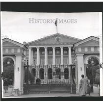 1958 Press Photo Communist Party Headquarters Leningrad