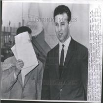 1962 Press Photo Deputy Premier Ahmed Ben Bella Algeria