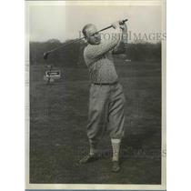 1928 Press Photo Joseph N McDonald wins Metropolitan Ad golf at Montauk NY