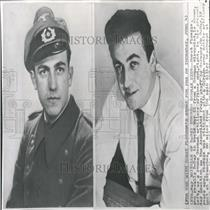 1959 Press Photo Past and Present, Horst Fluegge