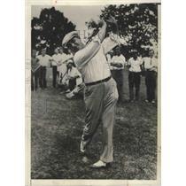 1931 Press Photo Father WS Danielak at Toledo District Amateur Golf - nes54149
