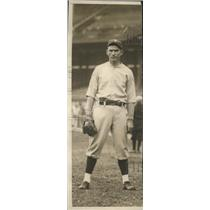 Undated Press Photo Tom Zackary Baseball Pitcher for Washington Senators