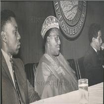 1964 Press Photo Ruadiri Adeo ambassador Nigeria Malawi
