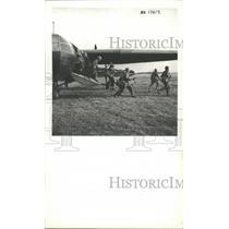 Press Photo Glider troops of Britain deplane from a Horse Glider - mjx24413