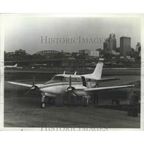 1967 Press Photo 1968 Beechcraft Queen Air A65 - ney26198