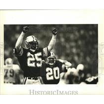 1983 Press Photo New Orleans Saints - Saints' cornerback Jonnie Poe - noa01218