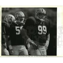 1988 Press Photo Tony Elliot at Saints Practice - noa02020
