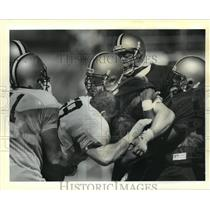 1988 Press Photo New Orleans Saints - Players during summer training camp.