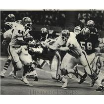 1977 Press Photo New Orleans Saints- Saints are going to have to swarm Atlanta.