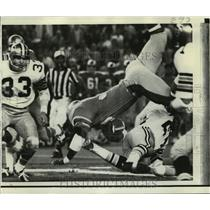 1970 Press Photo New Orleans Saints - Football Action in Play - nos00414