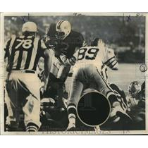 1972 Press Photo New Orleans Saints- Saints and Bills on the field. - nos00563