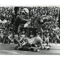 1973 Press Photo New Orleans Saints - Saints & Detroit Lions in Action