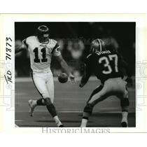 Press Photo New Orleans Saints- Saints in action on the field. - nos00673