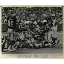 1970 Press Photo New Orleans Saints- Lone Saints score by Alvin Maxson (28)
