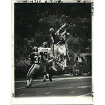 1978 Press Photo New Orleans Saints-Deflected pass is up for grabs. - nos01105
