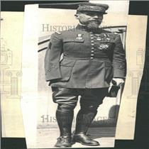 """1923 Press Photo General Gouraud, The """"Lion of Argonne"""" - RRY28825"""