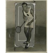1927 Press Photo Les Klawiter national junior squash champion - net31486