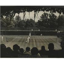 1929 Press Photo U of Oregon's Harrison vs U of Pa's Stanger at tennis