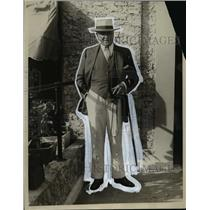 1929 Press Photo William Sharpe Kilmer noted N.Y. Sportsman at Florida Racing