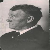 1920 Press Photo PR Gallagher Black Coat Tie White