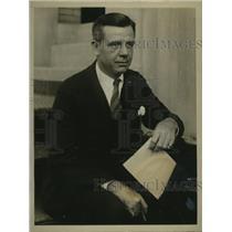 1926 Press Photo former Boxer Billy Spilger, New York Cotton Exchange Member