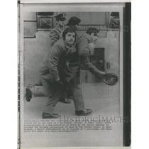 1971PressPhoto Soviet Demonstrators hauled off in Italy